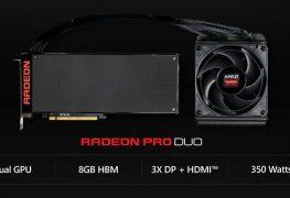 طاقة AMD Radeon Pro Duo