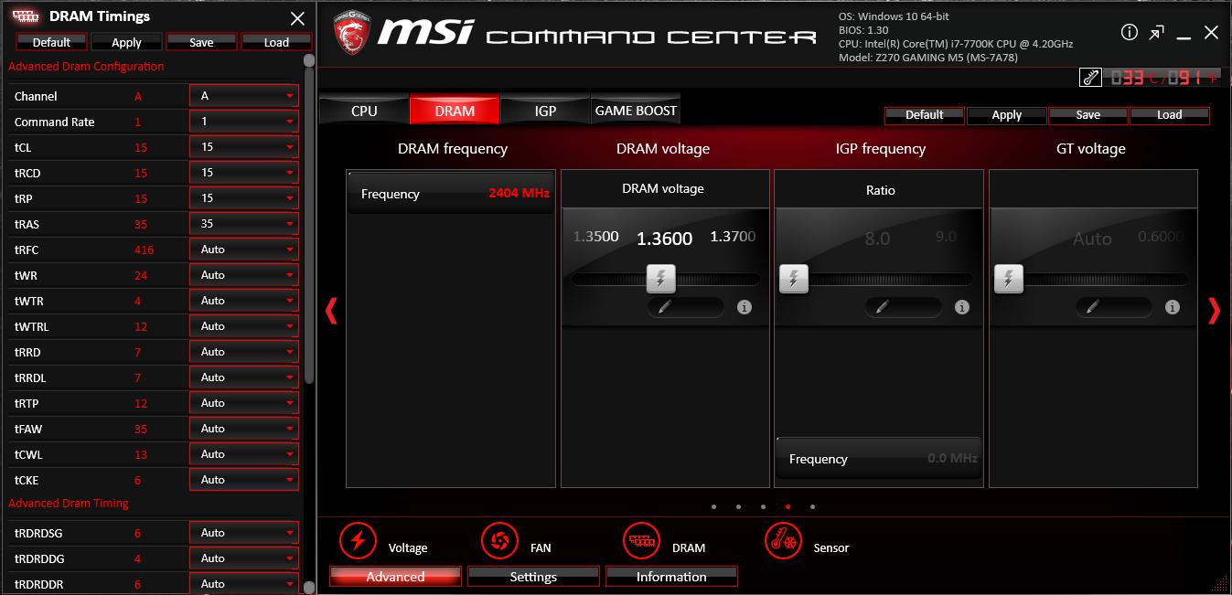 MSI Z270 GAMING M5
