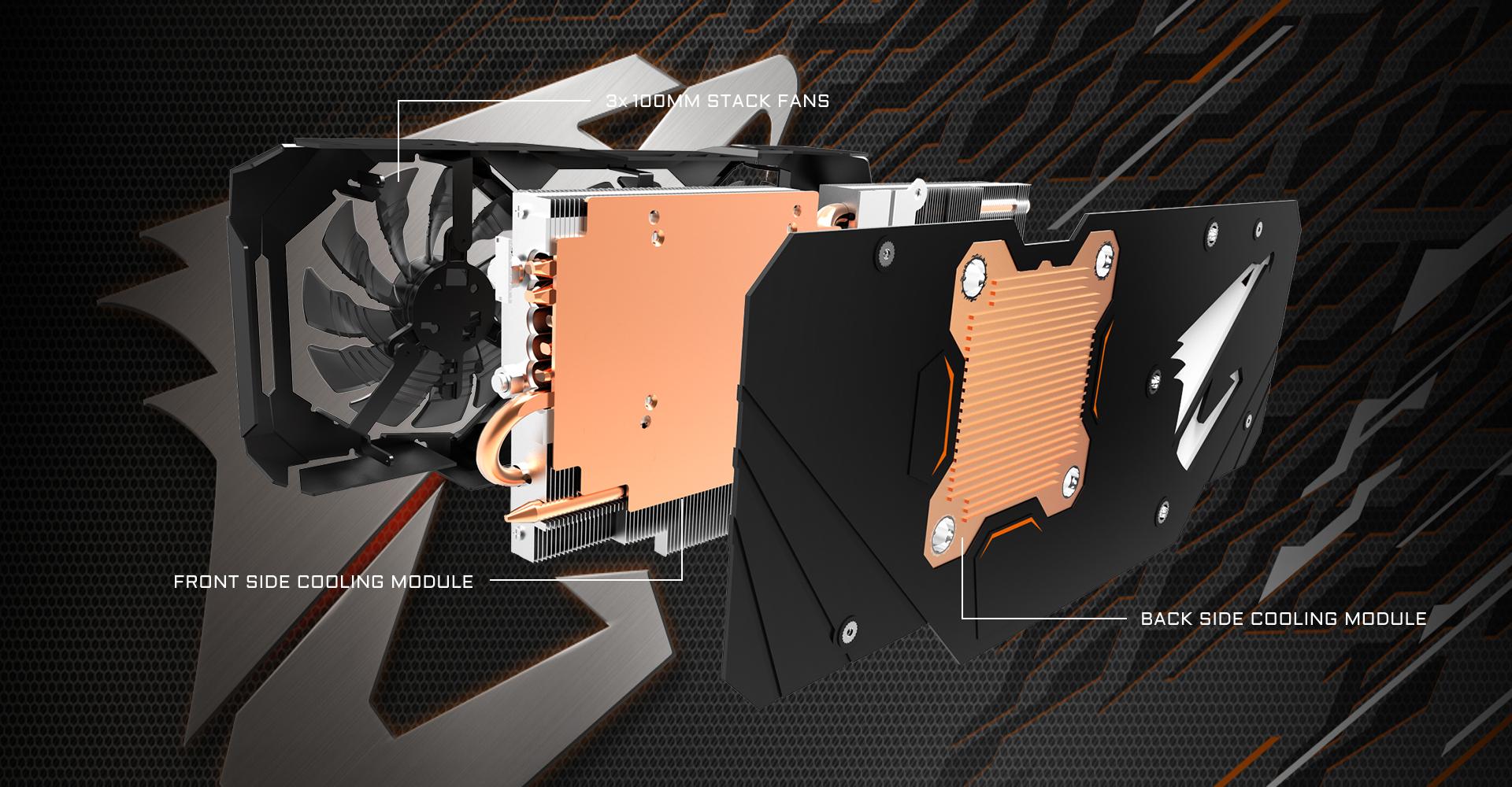 بطاقة جيجابايت GTX 1080 AORUS XTREME EDITION