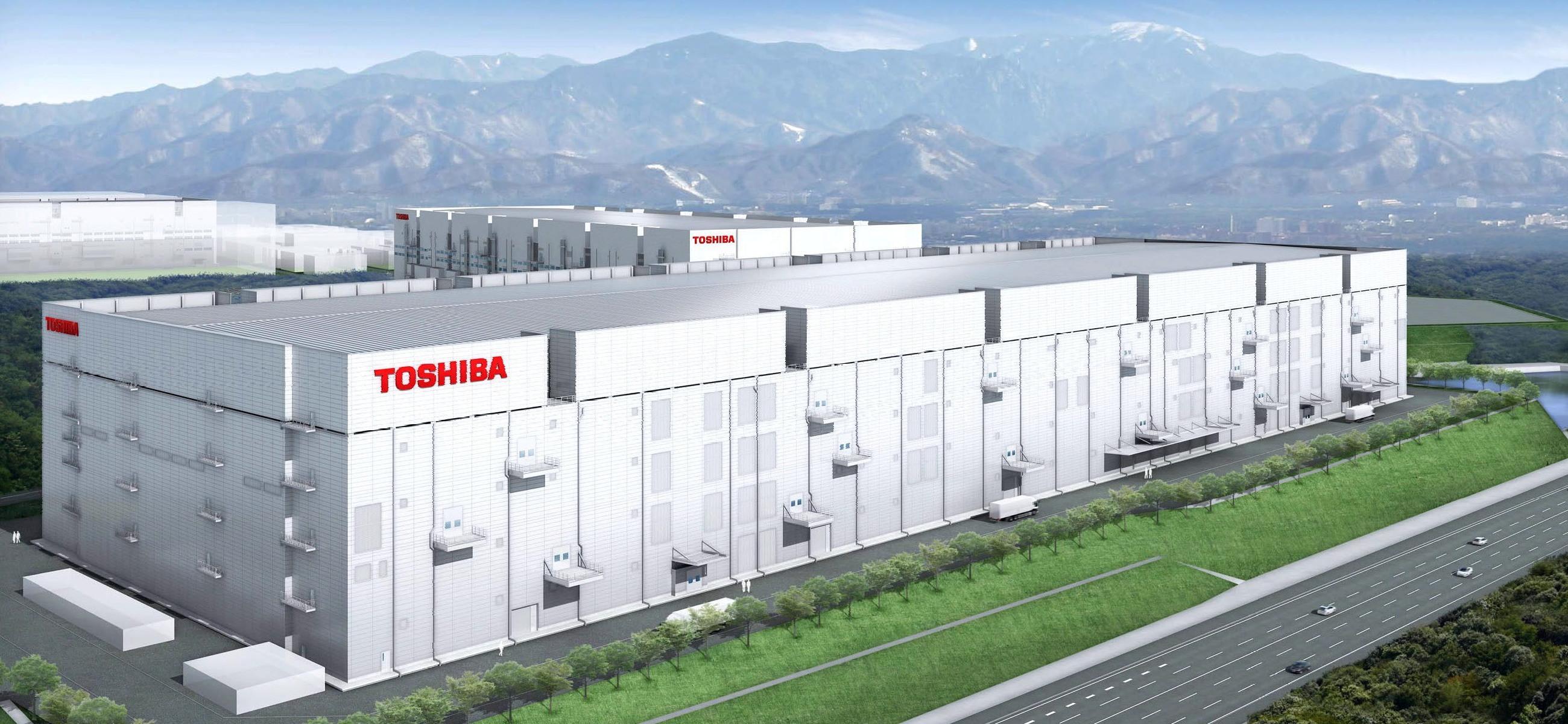 توشيبا تبدأ إنشاء منشأة تصنيع أشباه موصلات متطورة جديدة