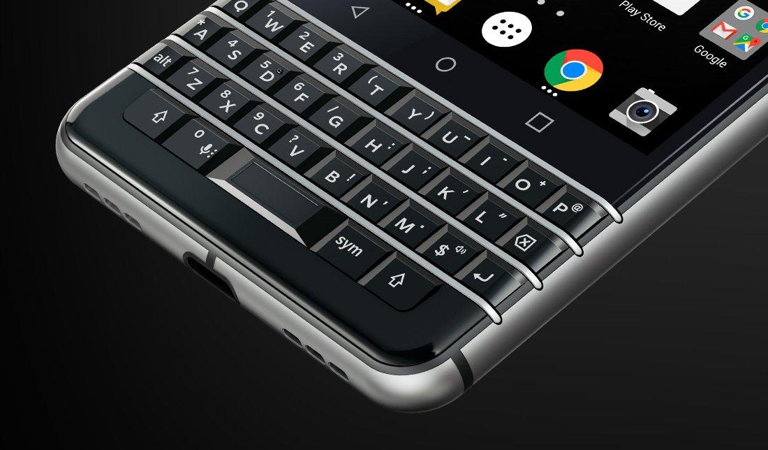 تعرف على هاتف BlackBerry الجديد KEYone