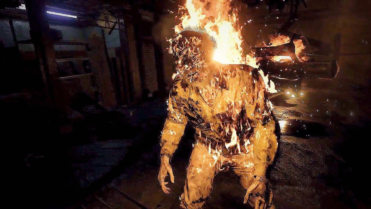 Res7 fire - أفضل ألعاب النجاة من الصعوبات الهائلة على Resident Evil 7 biohazard - PS4