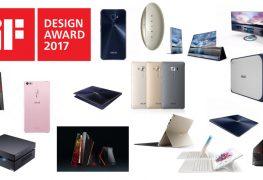 15 جائزة iF Design 2017 تفوز بها منتجات ASUS دفعة واحدة!