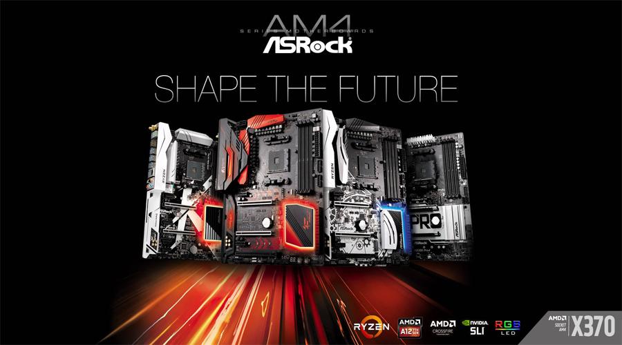الكشف عن 6 لوحات جديدة من ASRock داعمة لمعالجات RYZEN