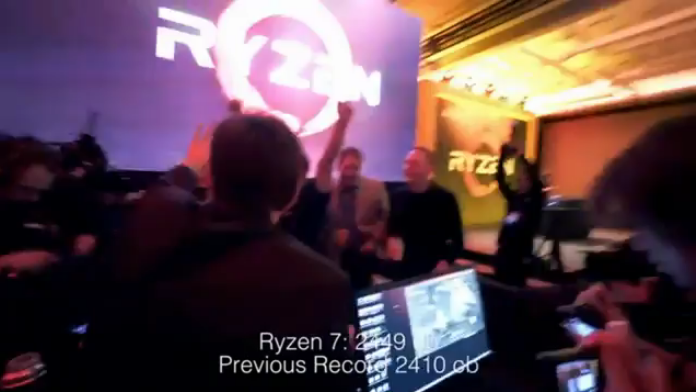 كيف استطاع معالج Ryzen 7 1800X أن يحطم الرقم العالمي لبينشمارك Cinebench