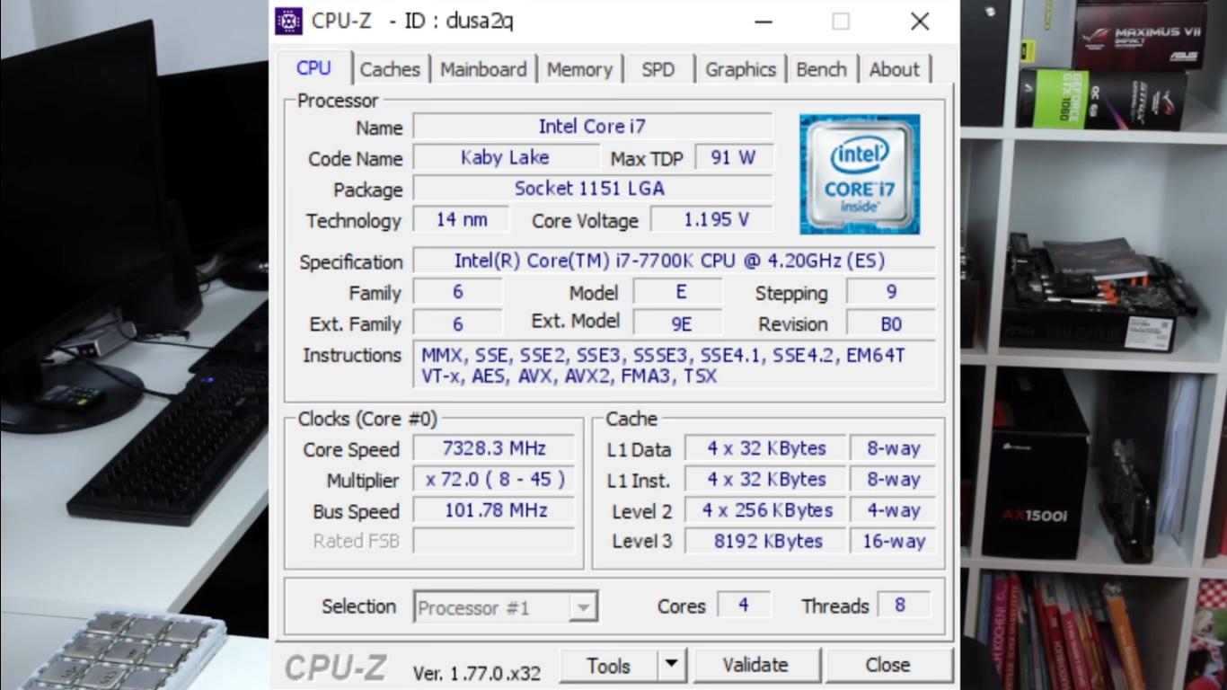 كيف استطاع معالج i7-7700K