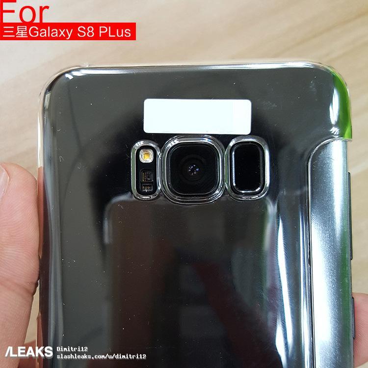وضع قارىء البصمة فى الخلف فى Samsung Galaxy S8 كان قرار فى اخر دقيقة