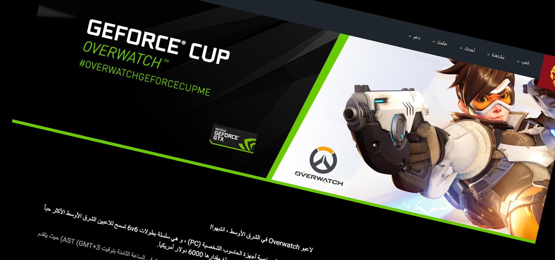 MEGL GeForce Cup Overwatch