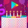 الاحتفال بعيد ميلاد متجر جوجل بلاى الخامس !! تعرف على اكثر ما تم تحميله فى خمس سنوات