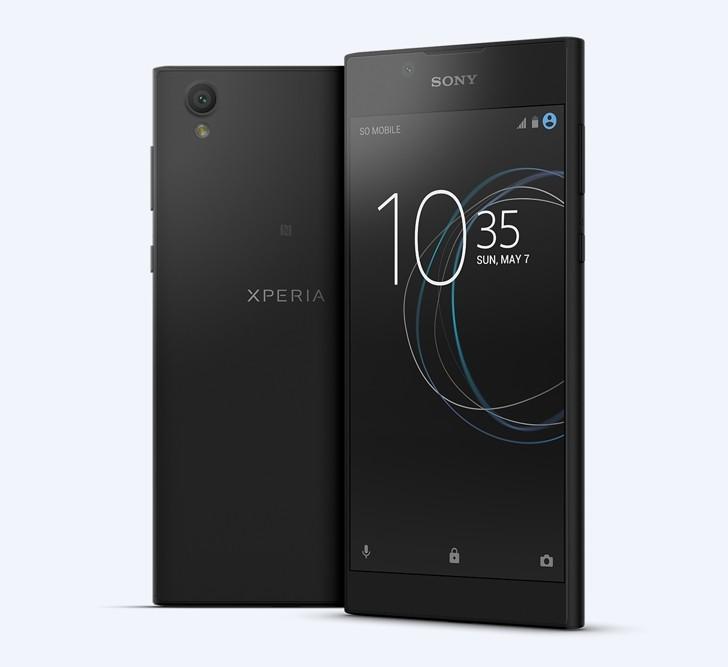 شركة Sony تُعلن عن هاتف Sony Xperia L1 للفئة الوسطى.