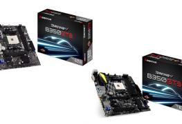 الكشف عن لوحات BIOSTAR RACING B350GT3/B350ET2 بأسعار مشجعة