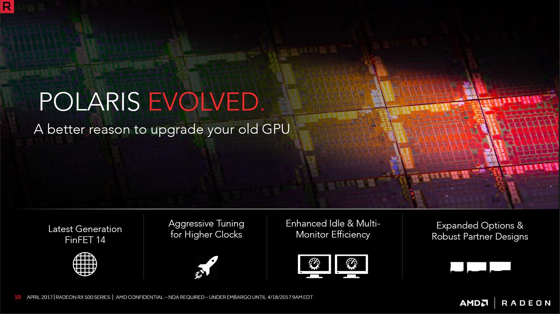رسمياً إطلاق سلسلة بطاقات RX 500 من AMD