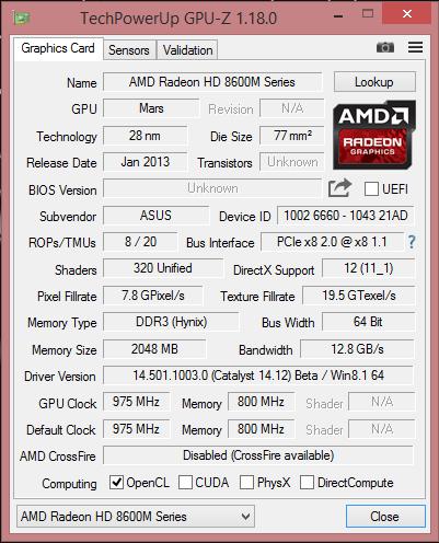 إصدار برنامج GPU-Z الجديد 1.19.0 يدعم سلسلة بطاقات AMD RX 500