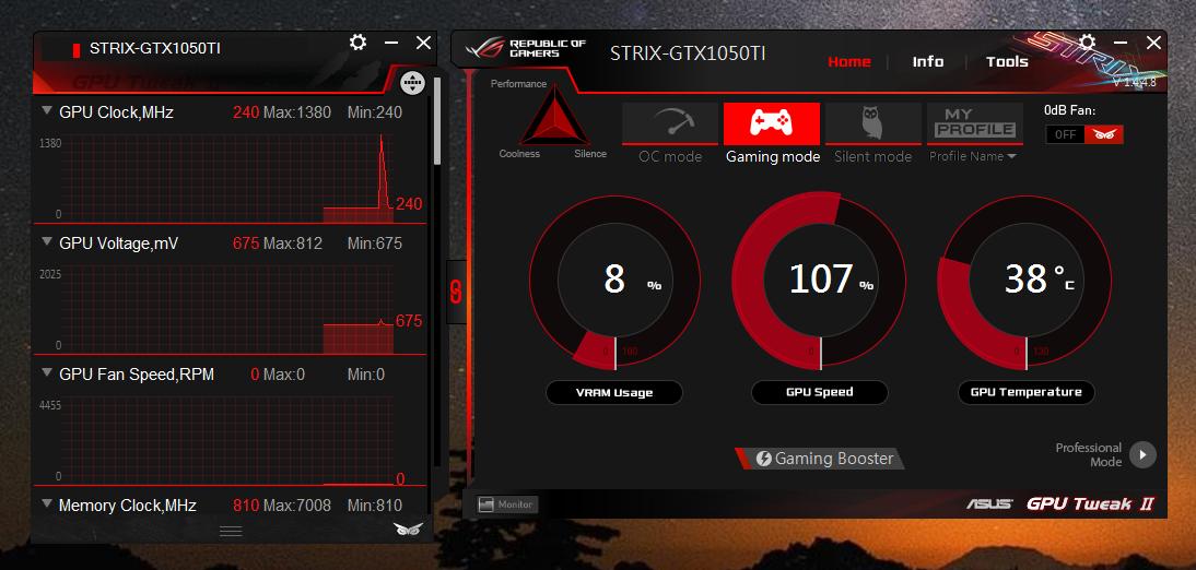 ASUS ROG STRIX GTX 1050 Ti