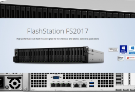 الكشف عن وحدة التخزين الشبكي Synology FlashStation FS2017
