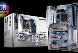 لوحة جيجابايت GA-Z270X-DESIGNARE تحصل على شهادة لتشغيل بطاقات Quadro