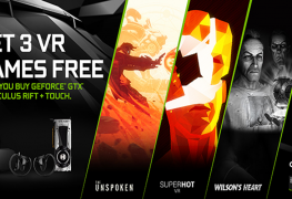 3 ألعاب VR مجاناً عند شراء إحدى بطاقات GeForce GTX مع نظارة Rift Oculus