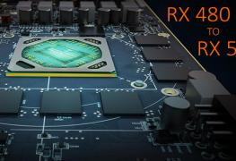 أصبح بالإمكان الأن تحويل بطاقة AMD RX 480 الى RX 580!