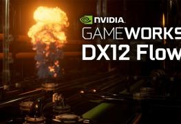 انفيديا تستعرض ديمو رائع لتقنية GameWorks Flow مع DX12