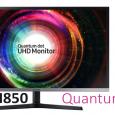 سامسونج تعلن عن شاشة U32H850 بدقة 4K وبتقنية Quantum Dots