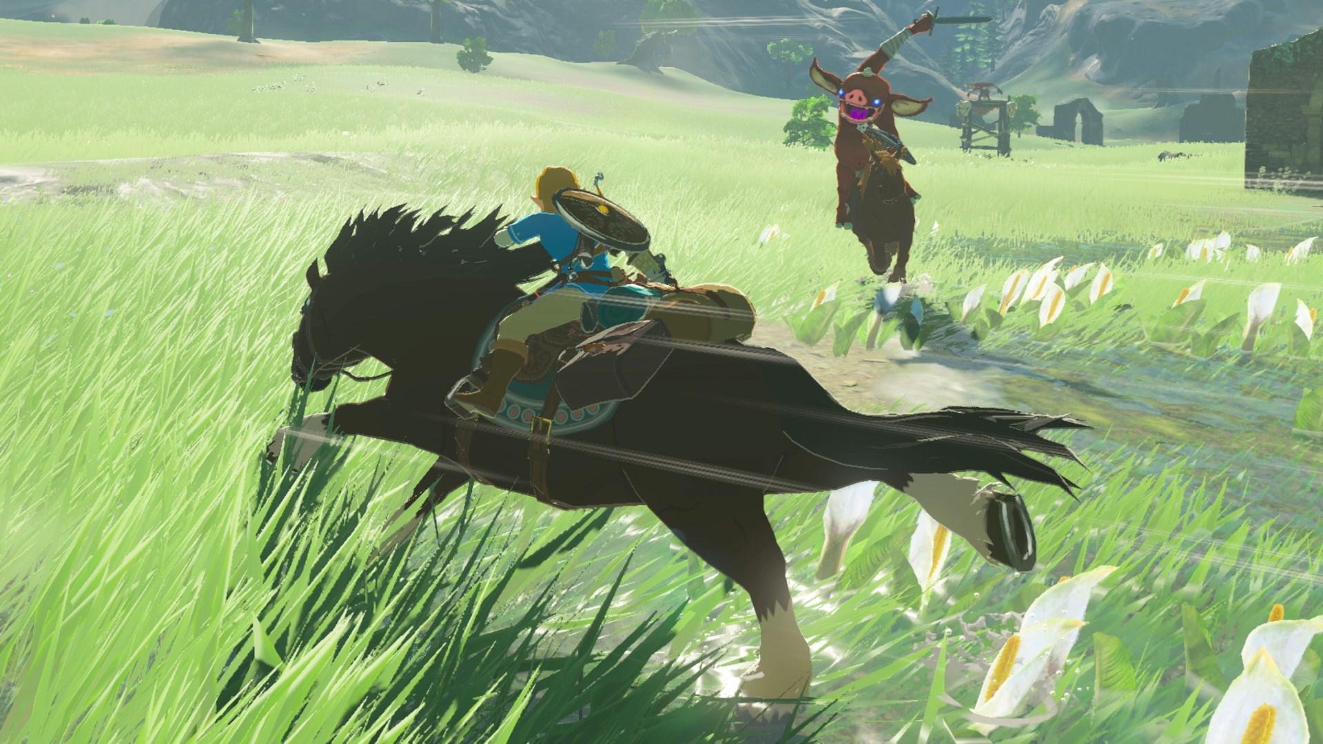 The LEgend of Zelda Breath of the Wild GOTY