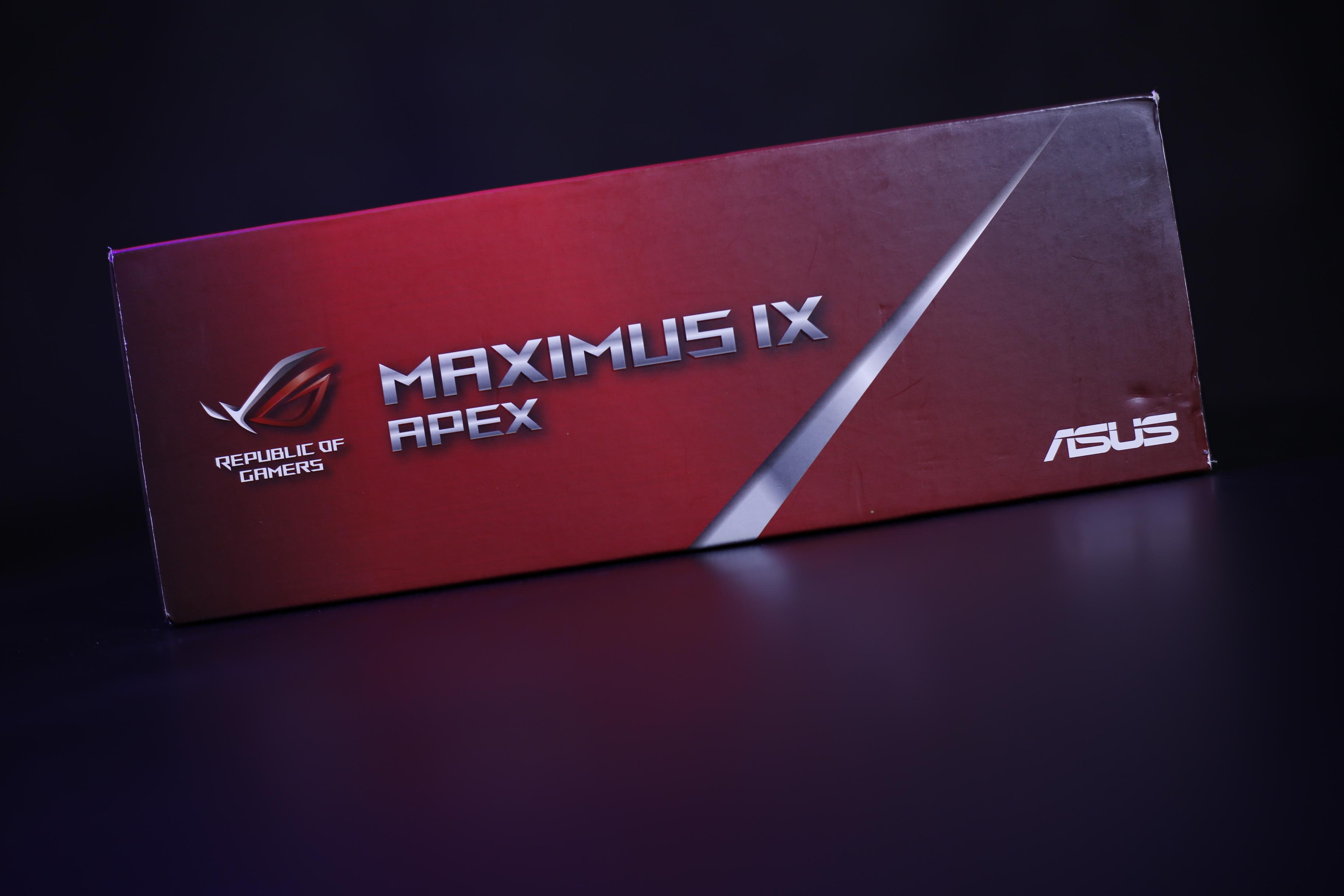 ASUS ROG MAXIMUS IX APEX