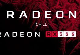 AMD Radeon Chill RX 500 RX 400