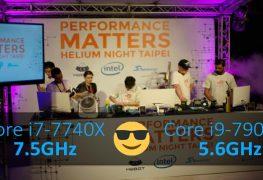 سلسلة معالجات إنتل Core-X تحطم 8 أرقام عالمية في كسر السرعة!