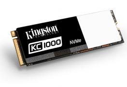 لأول مرة Kingston تعلن عن قرص KC1000 NVMe SSD الموجه نحو اللاعبين