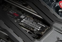 حل تبريد M.2 Shield FROZR الجديد من MSI سيبرد أقراص SSD