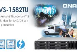 الكشف عن وحدة QNAP TVS-1582TU NAS الجديدة مع 4 منافذ Thunderbolt 3
