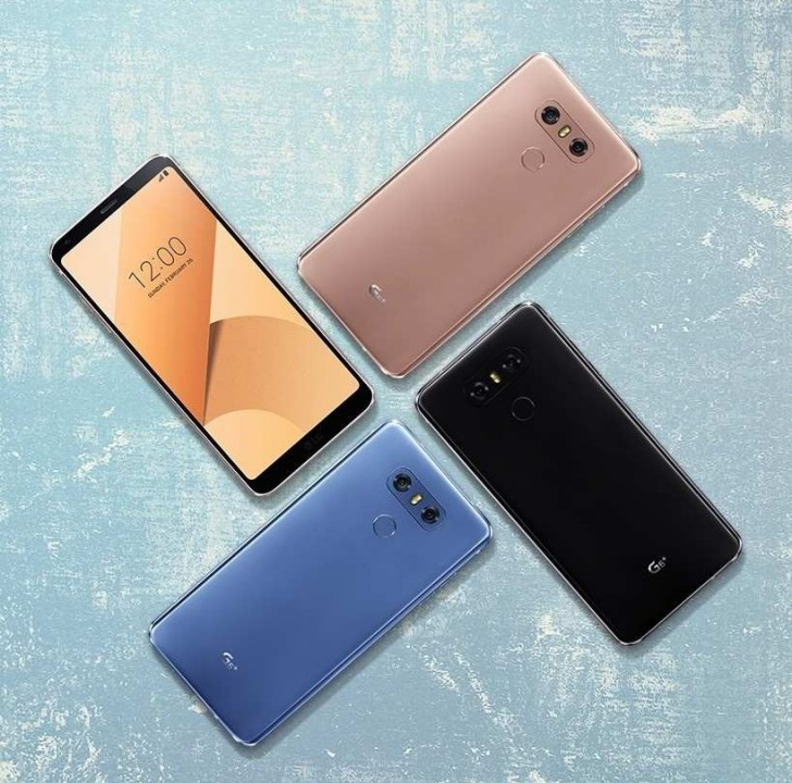 هاتف LG G6 Plus الجديد
