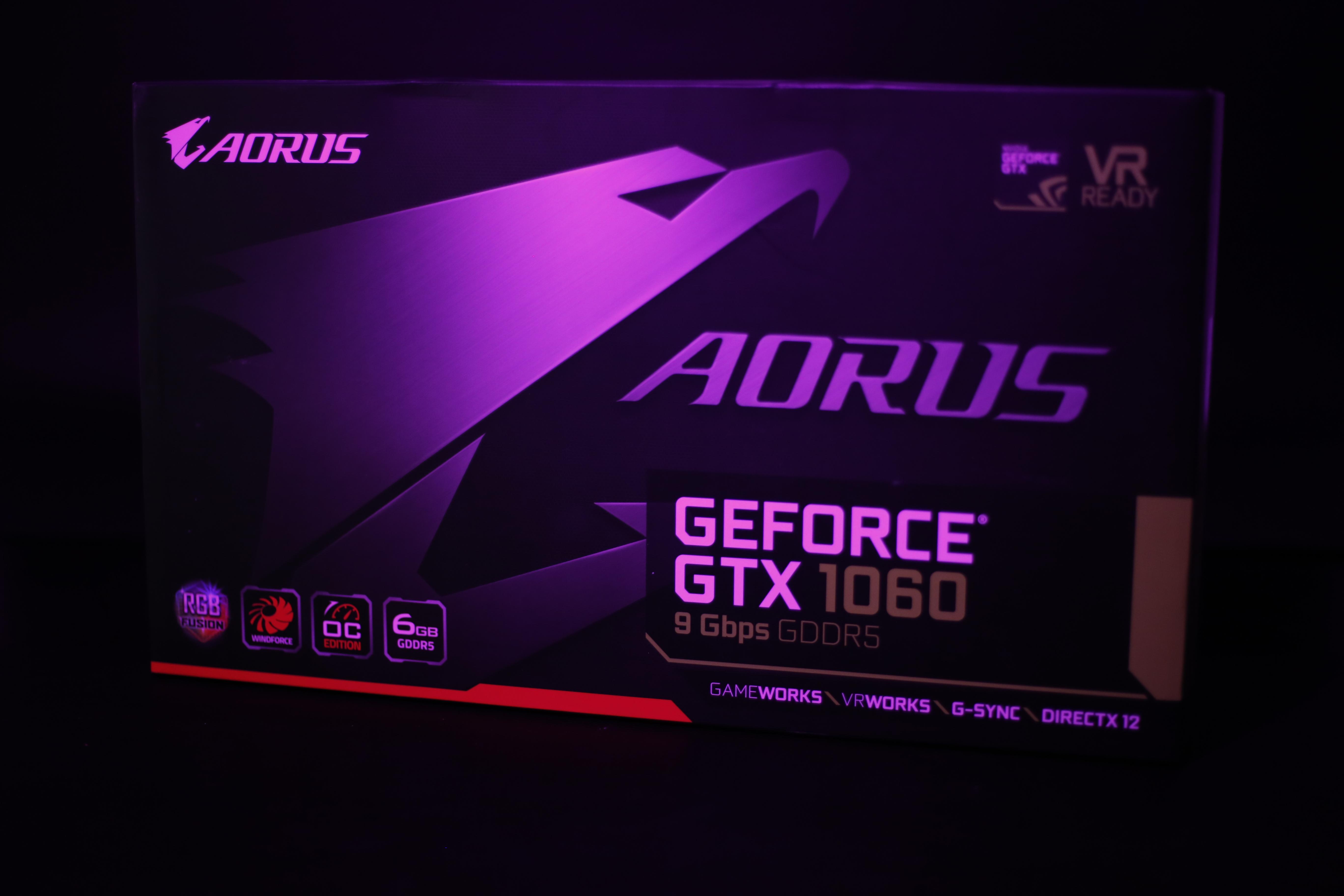 AORUS GTX 1060 6G 9Gbps