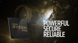 رسمياً AMD تكشف النقاب عن عائلة معالجات RYZEN PRO المكتبية