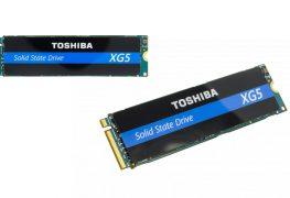 الكشف عن سلسة أقراص Toshiba XG5 NVMe SSD بذاكرة BiCS Flash الثورية