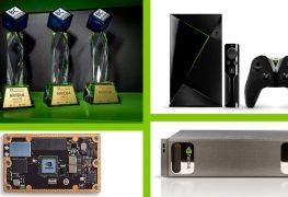 انفيديا تفوز بأربع جوائز مرموقة في معرض Computex 2017