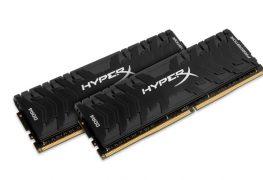 مجموعة ذواكر HyperX Predator DDR4 تصل للأسواق بتردد 4000MHz