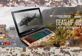 الجهاز المحمول بتصميمه العسكري MSI Camo Squad GE62VR متوفر للشراء