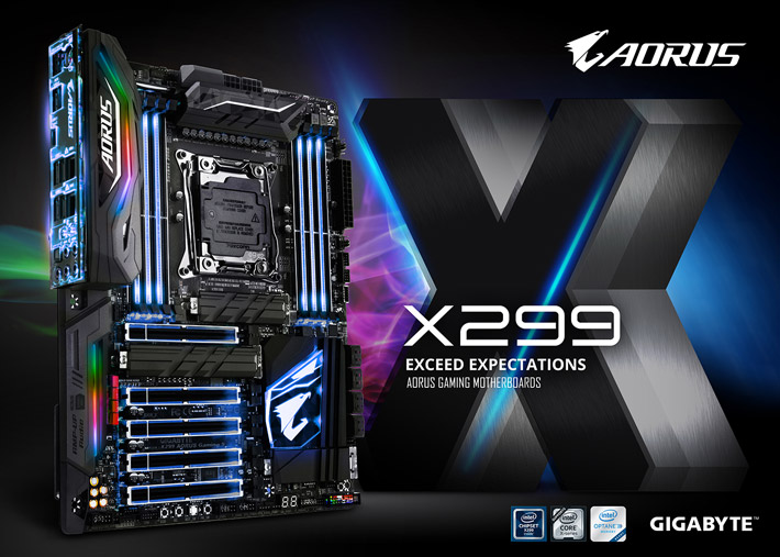 اللوحة الرئيسية Z270X-Gaming 9 اللوحة الرئيسية X299 AORUS