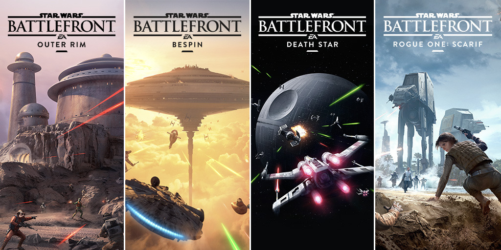 Star Wars Battlefront DLC Packs