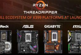 شركاء AMD يستعرضون مجموعة من لوحات X399