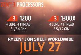 تسريبات تؤكد أسعار معالجات AMD RYZEN 3 الجديدة