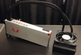 المزيد من الصور لبطاقة AMD Radeon RX Vega 64 بتبريد هوائي و مائي