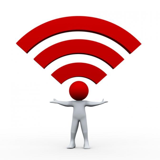 الإنترنت اللاسلكي شبكة Wi-Fi