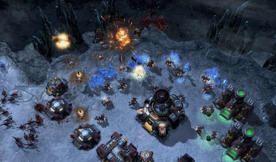 جوجل DeepMind يستخدم لعبة Starcraft 2