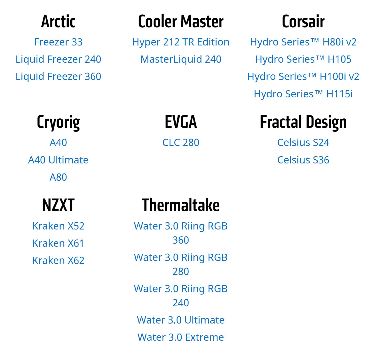 AMD Ryzen Threadripper 1950X 1920X