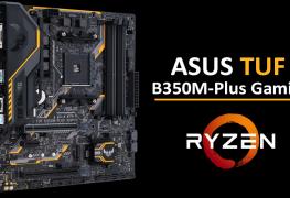 الكشف عن أول لوحة TUF من ASUS بشريحة AMD B350