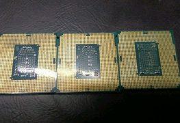 ظهور أولى الصور لرقاقة معالج إنتل Core i7-8700K سادسي النواة من الجيل الثامن
