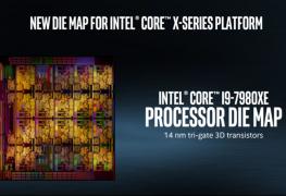 فتح باب الطلب المسبق على المعالج الأقوى بالعالم إنتل Core i9-7980XE