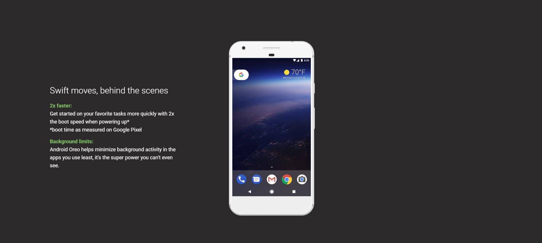 نظام التشغيل الجديد Android Oreo